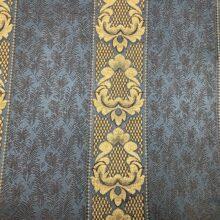 Портьерная жаккардовая в классическом стиле синяя