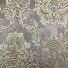 Портьерная жаккардовая ткань с рисунком «дамаск» из полиэстера