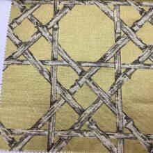 Жаккардовая ткань из хлопка и льна в японском стиле