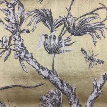 Портьерная жаккардовая ткань из хлопка и льна в японском стиле