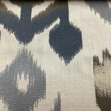 Портьерная ткань с вышивкой из хлопка в этническом стиле