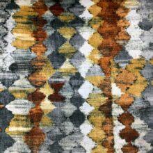 Портьерная ткань из гладкого шенилла в этническом стиле из Испании