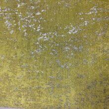 Портьерная жаккардовая ткань премиум-класса в желто-серебристых оттенках