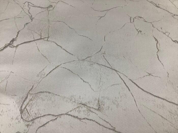 Портьерная атласная ткань премиум-класса светло-серая