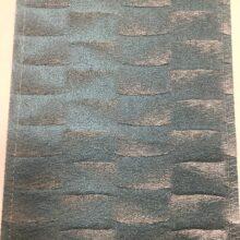 Портьерная атласная ткань премиум-класса в бирюзовых оттенках