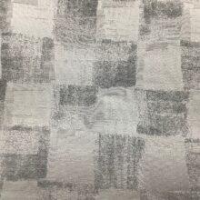 Портьерная атласная ткань премиум-класса с абстрактной геометрией