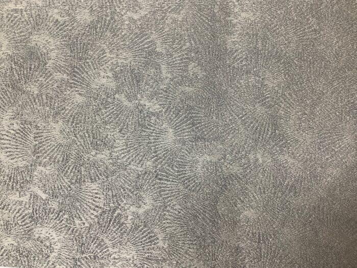 Портьерная ткань премиум-класса с абстрактным рисунком серебристая