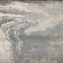 Портьерная атласная ткань премиум-класса с абстрактным рисунком