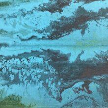 Портьерная атласная ткань премиум-класса с абстрактным рисунком из Англии