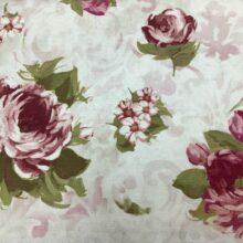 Портьерная ткань из хлопка с цветочным орнаментом