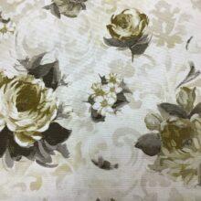 Портьерная ткань из хлопка с цветочным орнаментом из Испании