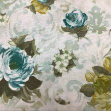 Портьерная ткань из хлопка с цветочным орнаментом из хлопка