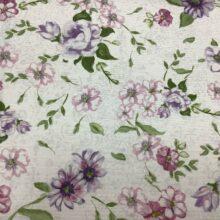 Портьерная ткань из хлопка с цветочным орнаментом в стиле Кантри