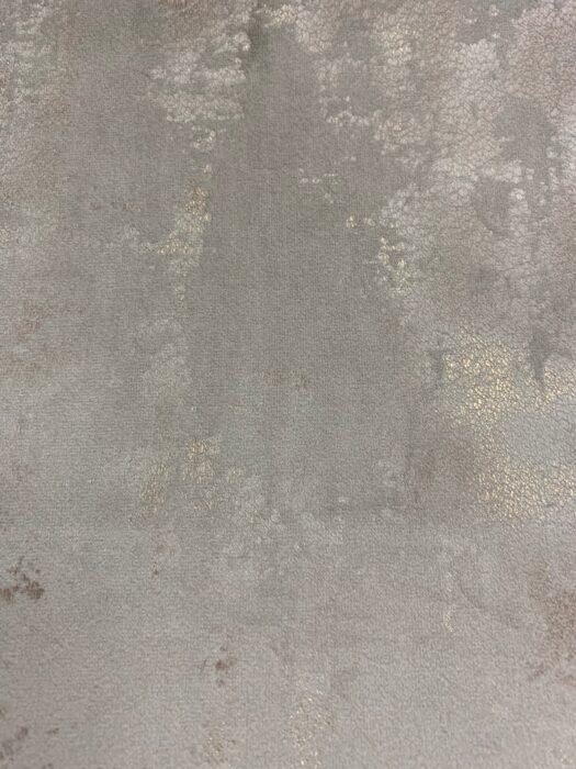Бархатная ткань в серых оттенках с золотистым напылением