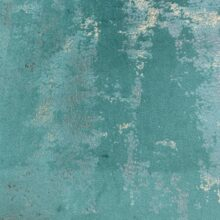 Бархатная ткань в бирюзовых оттенках с золотистым напылением