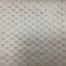 Тюлевая  фактурная ткань из льна цвета экрю