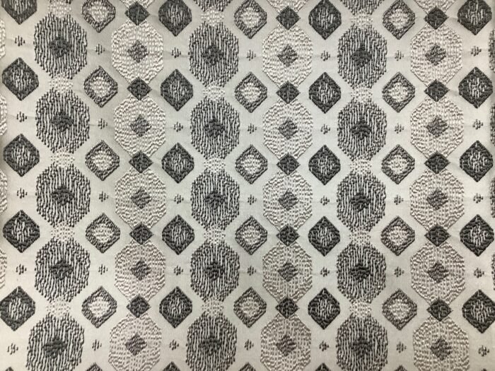 Портьерная жаккардовая ткань с геометрическим рисунком из Испании
