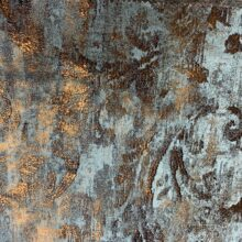 Жаккардовая ткань премиум-класса с фактурным тиснением и напылением бронза