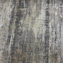Жаккардовая ткань премиум-класса с фактурным тиснением и напылением темно-серая