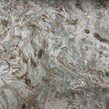 Жаккардовая ткань премиум-класса с абстрактным рисунком бронза