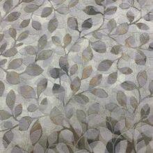 Жаккардовая ткань премиум-класса с растительным орнаментом листочки
