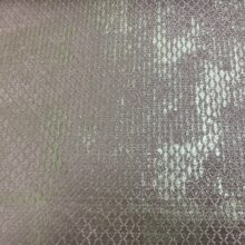 Жаккардовая ткань премиум-класса с абстрактным фактурным рисунком бледно-розовая