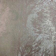 Жаккардовая ткань премиум-класса с фактурным тиснением и напылением розовая