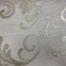 Тюлевая ткань премиум-класса, батист с тиснёным нанесением рисунка кремовая